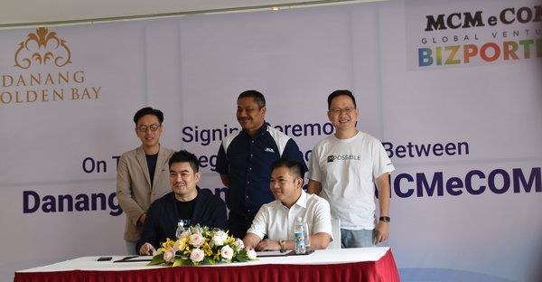 Signing Ceremony on the Strategic Partnership between Danang Golden Bay Hotel, Vietnam & MCM eComm Global Venture Sdn Bhd, Malaysia